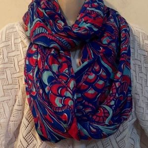 Lilly Pulitzer Reel Me In Infinity Scarf